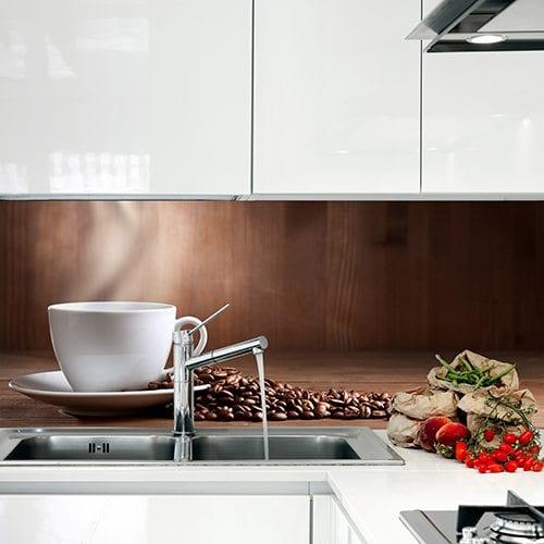 Print på plate til kjøkken fra Presis