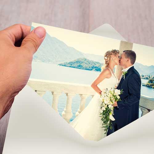 kort til bryllup fra presis