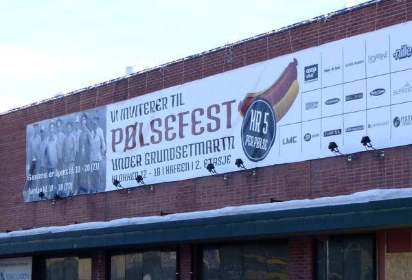 Bannere med trykk fra Presis